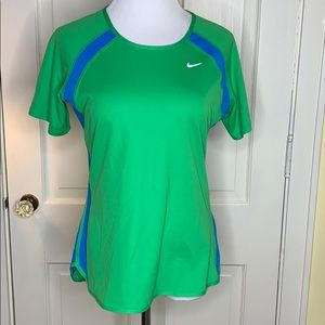Nike Dri-Fit Green with Blue top Size Medium